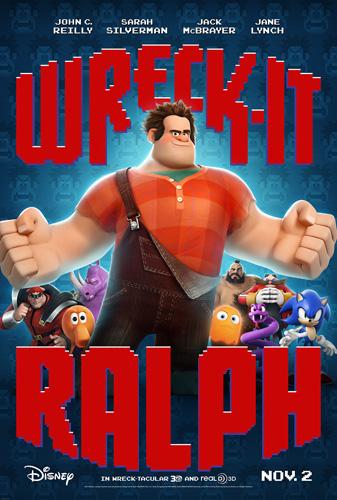 "Disney Wreck It Ralph New Trailer! ""Ralph Meets Vanellope"""