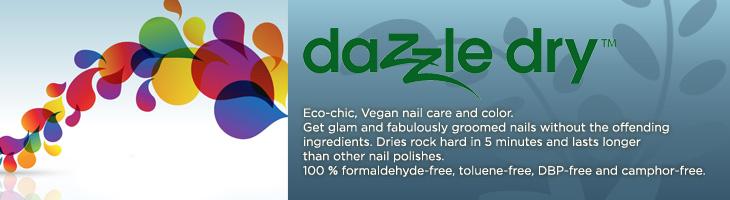 nail art design dazzle dry