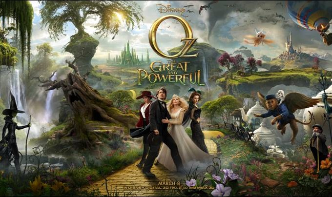 Oz The Great and Powerful Movie Trailer