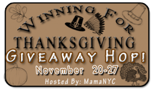 Winning for Thanksgiving Giveaway Hop
