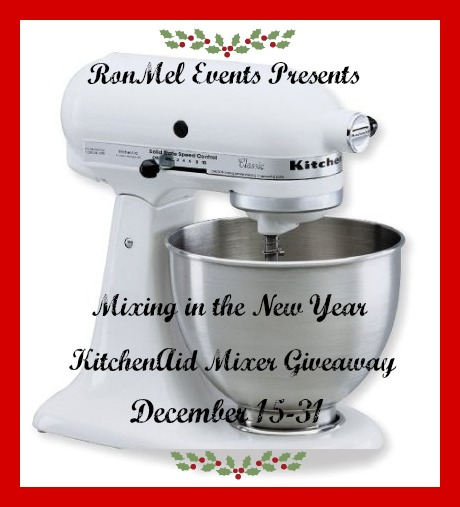 Mixing in the New Year KitchenAid Stand Mixer Giveaway
