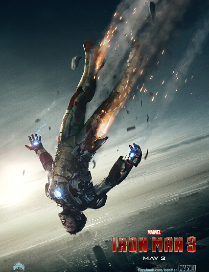 Marvel Iron Man 3 Trailer, Info #TeamStark! In Theaters May 3 2013