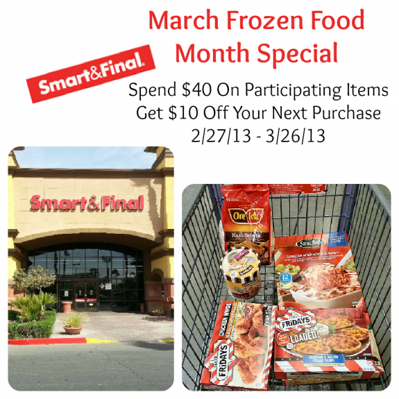 Smart and Final Frozen Food