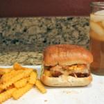Sweet and Spicy BBQ Chicken Sandwich Recipe with Mango Salsa