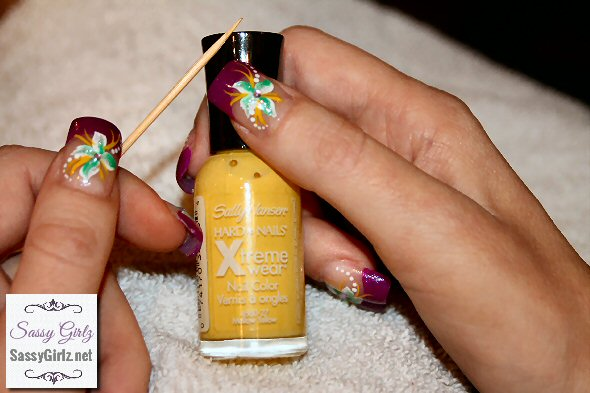 Nail Art Designs With Toothpicks Spring nail art designs