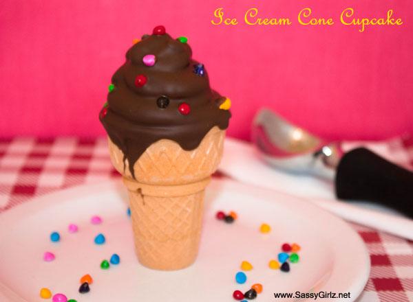 Ice Cream Cone Cupcakes Homemade Cupcakes