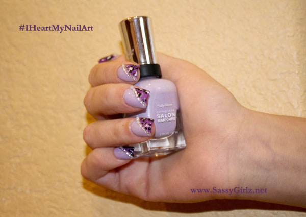 Vegas Glam Nail Art Designs Guest Post On Sally Hansen