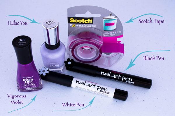 Nail Art Designs Vegas Glam