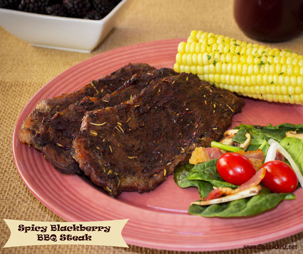 Spicy Blackberry BBQ Steak Recipe Summer Grilling Kicked Up A Notch