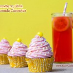 The Cupcake Project: Strawberry Pink Lemonade Cupcakes Homemade Cupcake Recipe