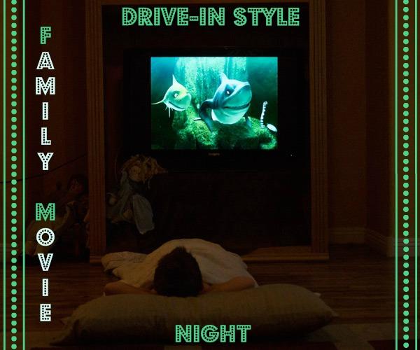 Family Movie Night – AKA Surviving Summer in Las Vegas