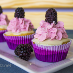 The Cupcake Project: Blackberry White Chocolate Cupcakes