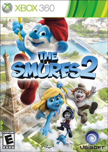 XBOX 360 Games For Kids Smurfs 2