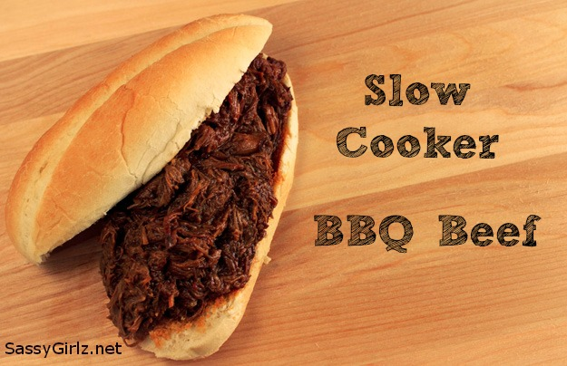 Hickory Flavored Slow Cooker BBQ Beef Recipe Seriously Good Eating!