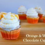 The Cupcake Project: Orange White Chocolate Cupcakes