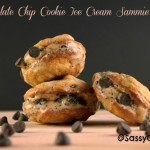 Chocolate Chip Cookie Ice Cream Sandwich Mini's! Back To School Ideas