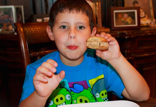 Chocolate Chip Cookie Ice Cream Sandwich