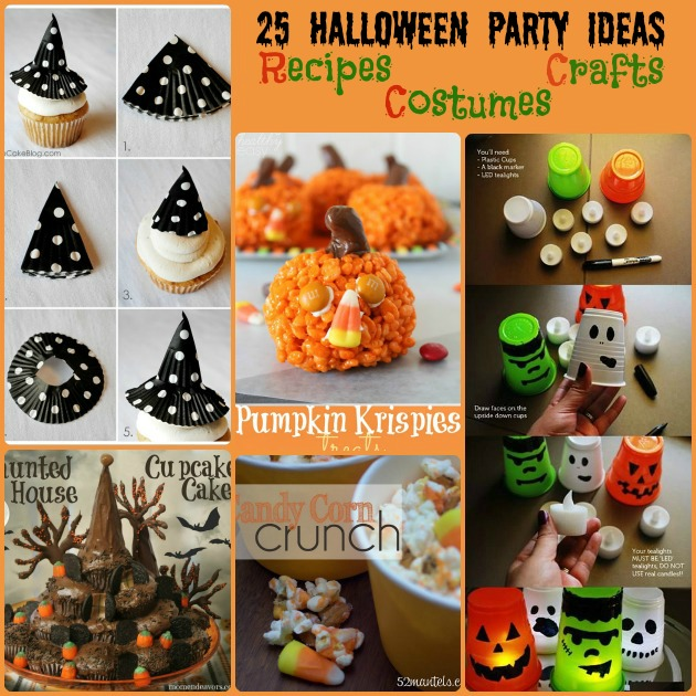 Halloween Party Ideas – Crafts, Recipes, Decorations, Costumes & More!