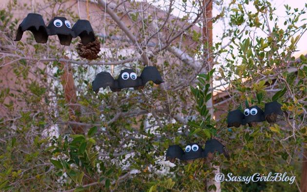 Halloween Crafts For Kids Black Bat | Sassy Girlz Blog