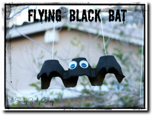 Halloween Crafts For Kids Black Bat | Sassy Girlz Blog
