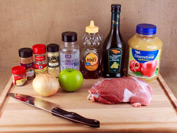 Slow Cooker Apple Pork Recipe | Sassy Girlz Blog