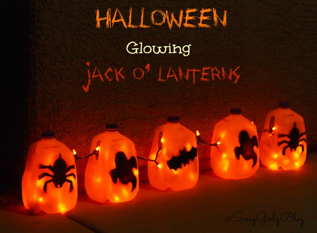 Halloween Crafts For Kids Glowing Ghosts | Sassy Girlz Blog