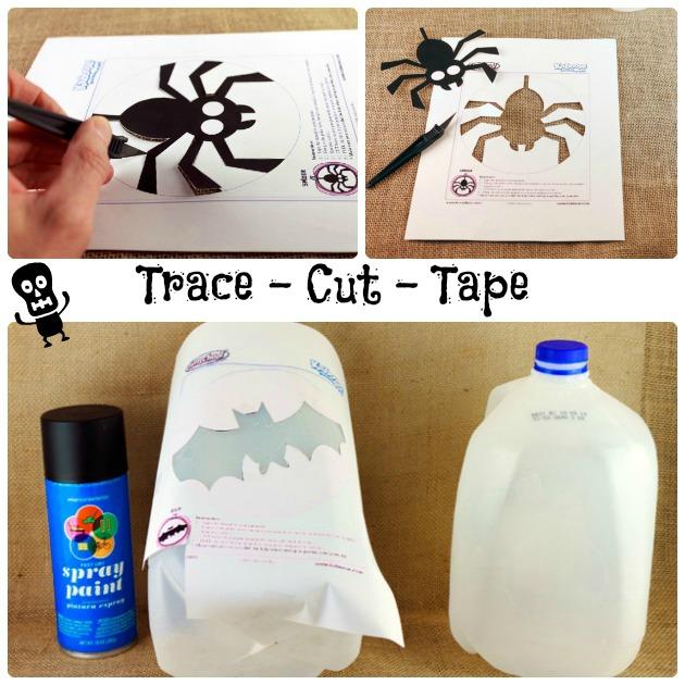 Halloween Crafts For Kids Glowing Ghosts | Sassy Girlz Blog