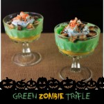 Halloween Party Ideas Green Zombie Trifle & Bloody Hand Party Punch