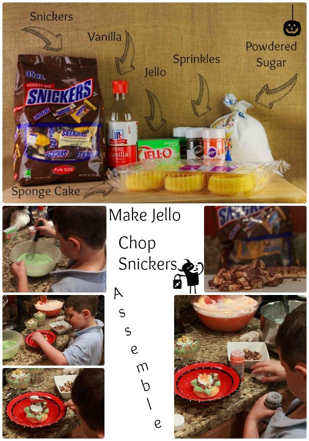 Halloween Party Ideas Green Zombie Trifle | Sassy Girlz Blog