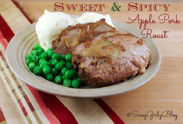 Slow Cooker Apple Pork Roast Recipe | Sassy Girlz Blog