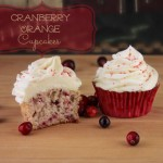 The Cupcake Project: Orange Cranberry Cupcakes With White Chocolate Ganache