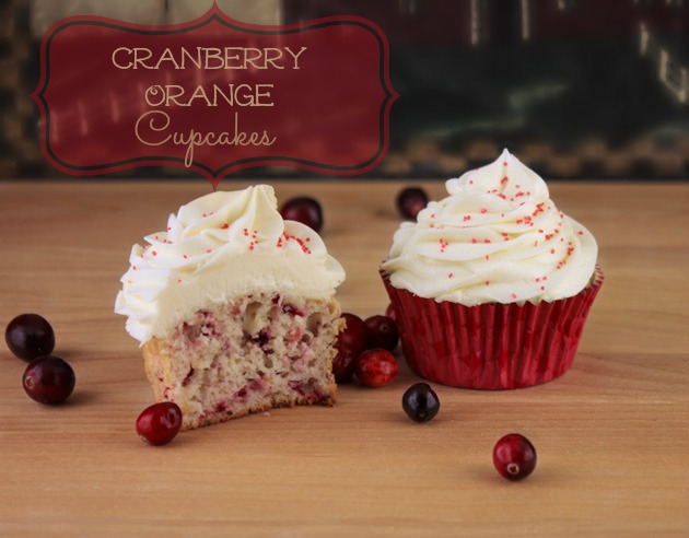 Orange Cranberry Cupcakes With White Chocolate   Sassy Girlz Blog