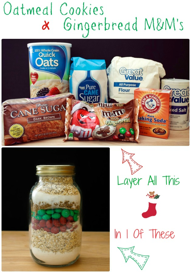 Gifts In A Jar Oatmeal Cookie Mix   Sassy Girlz Blog #shop