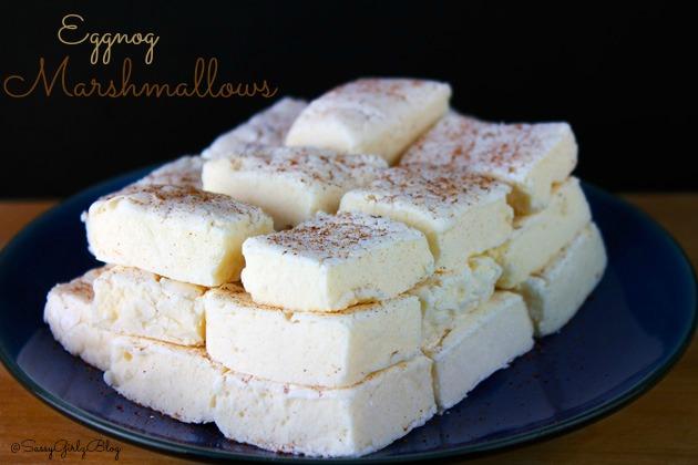 Eggnog Flavored Homemade Marshmallows | Sassy Girlz Blog