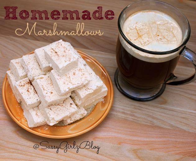 Homemade Marshmallows Eggnog Flavored Marshmallows Recipe