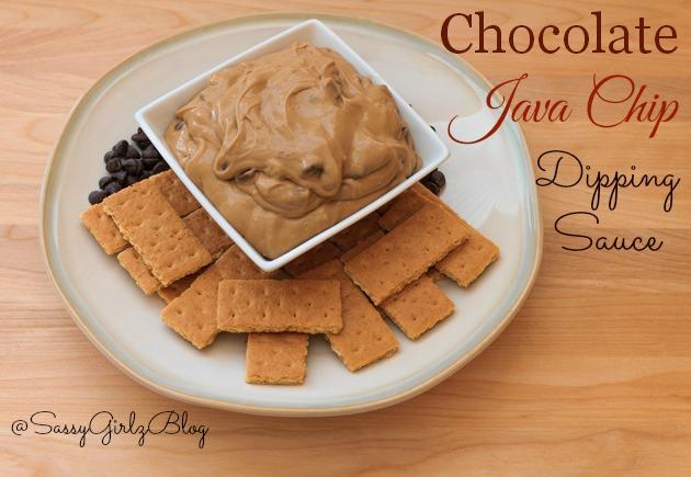 Perfect Coffee Break - Java Chip Dipping Sauce   Sassy Girlz Blog