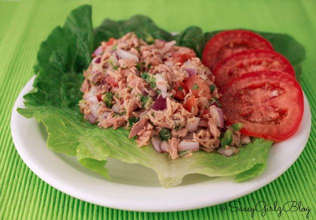 Spicy Tuna Ceviche Tuna Salad | Sassy Girlz Blog