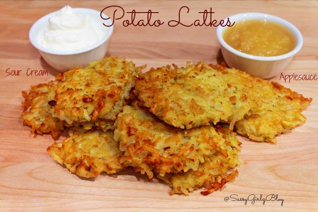 Hash Brown Potato Latkes | Sassy Girlz Blog #shop