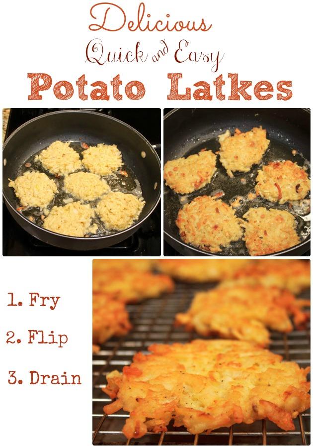 Hashbrown Potato Latkes Directions #shop