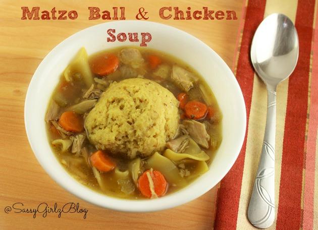 Chicken Soup With Matzo Balls Recipe — Dishmaps