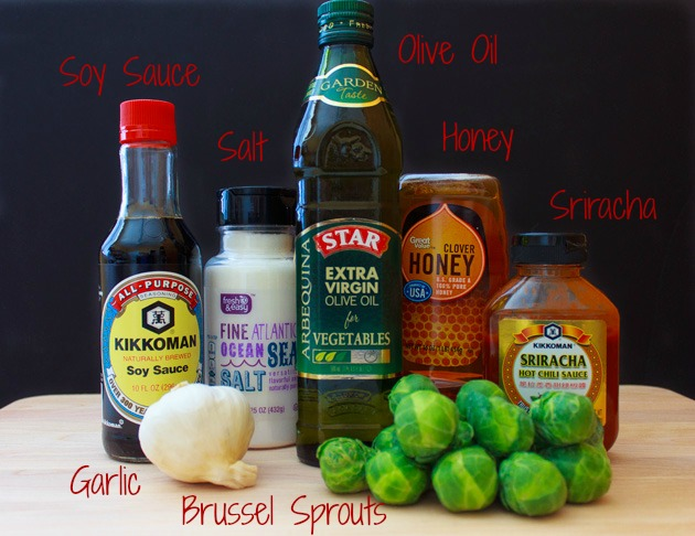 Garlic Roasted Brussel Sprouts #shop