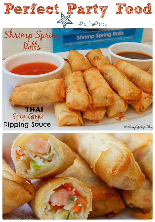 Spicy Thai Ginger Spring Roll Dipping Sauce | Sassy Girlz Blog #shop