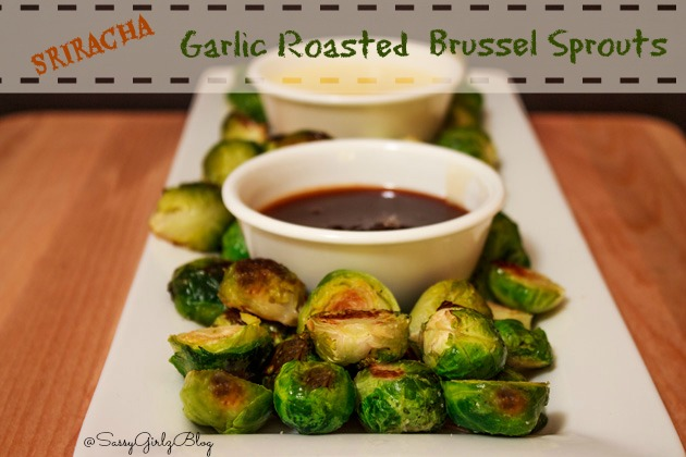 Garlic Roasted Brussel Sprouts | Sassy Girlz Blog #shop