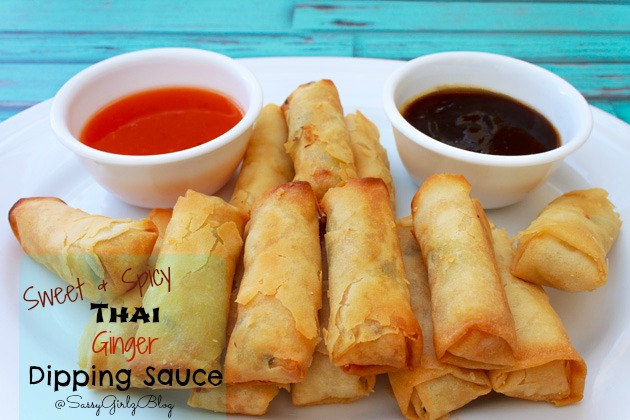 Thai Spring Roll Dipping Sauce | Sassy Girlz Blog #shop