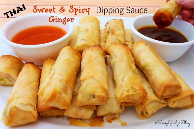 Thai Spring Roll Dipping Sauce | Sassy Girlz Blog