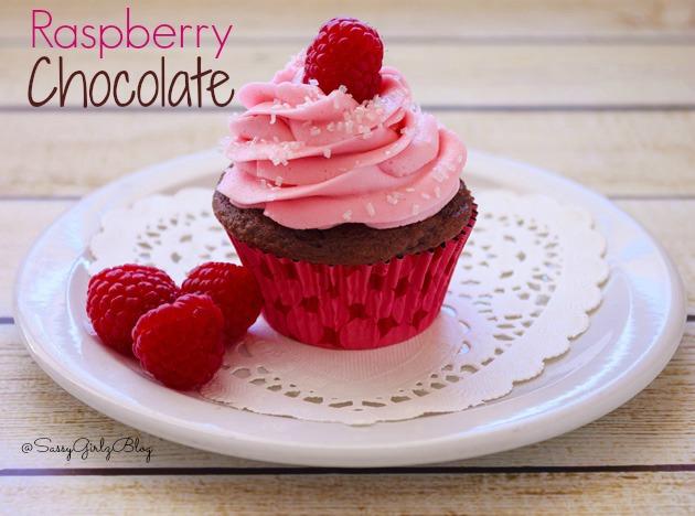 Chocolate Raspberry Cupcakes | Sassy Girlz Blog