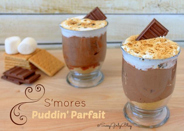 Smores Pudding Parfait | Sassy Girlz Blog