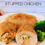 Skinny Jalapeno Popper Stuffed Chicken Recipe Weight Watchers Friendly!