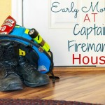 Early Morning With My Fireman – Feeding The Captain