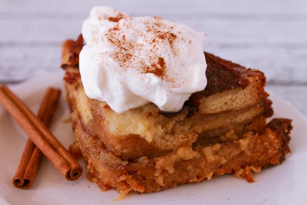 Cinnamon Vanilla Easy Bread Pudding | Sassy Girlz Blog